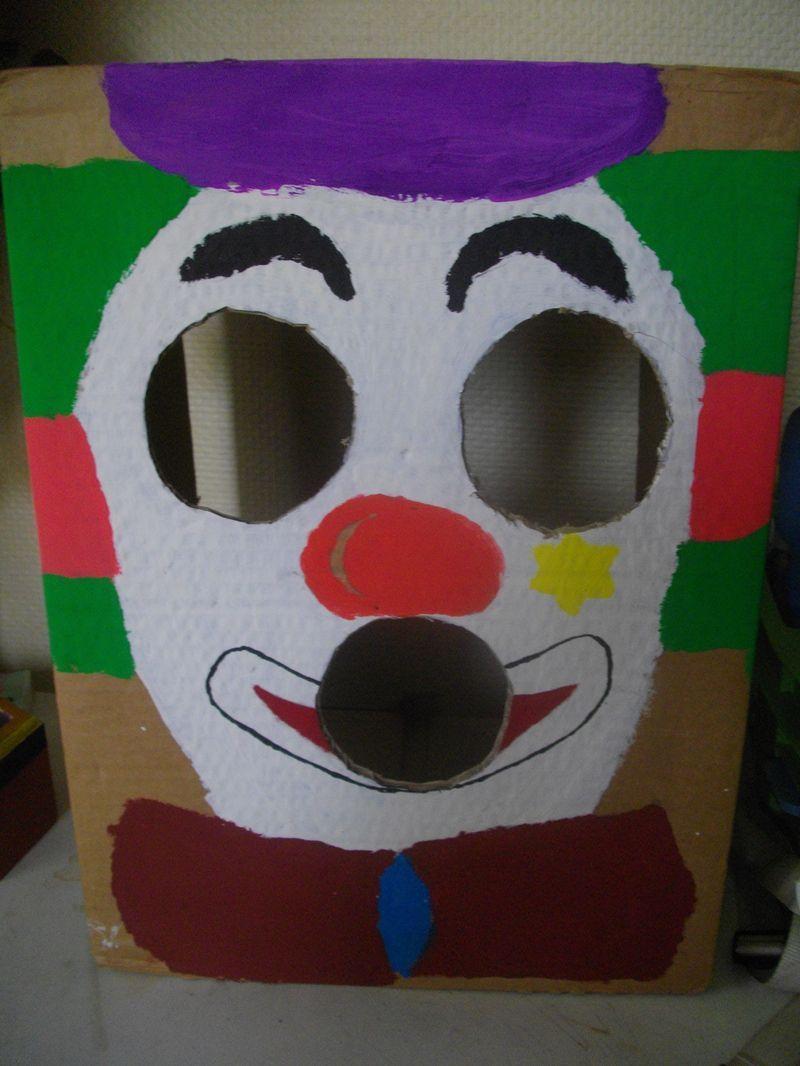 Boite En Bois Avec Un Trou : Une boite ? trou clown – Centerblog