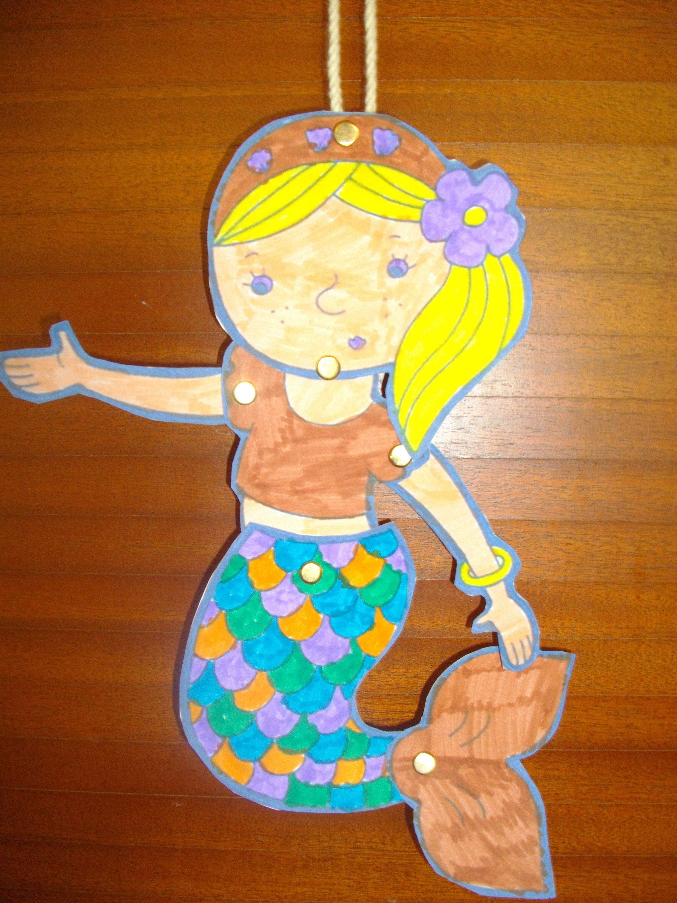 Marionnette de sir ne - Fabriquer une marionnette articulee ...